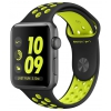 Умные часы Apple Watch Nike+ 42mm Space Grey Al /Volt (MP0A2RU/A), купить за 34 500 руб.