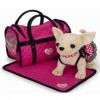 Игрушка мягкая Simba Чихуахуа с сумкой, 20 см, купить за 3 500руб.