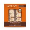 Kativa Укрепляющий  Шампунь и кондиционер с кератином, купить за 780руб.