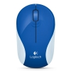 Logitech M187 Wireless Mini Mouse Brave Blue, купить за 1 710 руб.