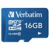 Verbatim Tablet microSDHC Class 10 UHS-1 16GB + SD adapter, ������ �� 730���.