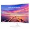 """31.5"""" Samsung C32F391FWI, Белый, купить за 18 480руб."""