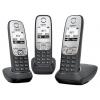 Радиотелефон Gigaset A415 Trio, черный, купить за 4 590руб.