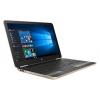 Ноутбук HP Pavilion 15-au000ur  F1D57EA, золотистый, купить за 34 695руб.