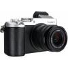 Цифровой фотоаппарат Panasonic Lumix DMC-GX8KEE-S (LUMIX G VARIO), серебристо-чёрный, купить за 80 130руб.