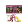 Набор игровой Simba Маша с детской игровой площадкой, купить за 1 155руб.