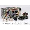 Радиоуправляемая модель Tongde Военный автомобиль со звуковым эффектом (с набором солдат), купить за 2 770руб.
