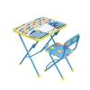 Товар для детей Набор мебели Nika Первоклашка синий фон h580, купить за 1 700руб.