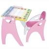 Товар для детей Набор мебели Интехпроект Буквы Цифры Розовый, купить за 2 940руб.