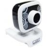 Web-камера CBR CW-835M, универс. крепление, 4 линзы, 1,3 МП, эффекты, микрофон, CW 835M, чёрная, купить за 750руб.