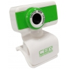 Web-камера CBR CW 832M, зелёная, купить за 700руб.