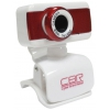 Web-камера CBR CW 832M, красная, купить за 705руб.