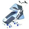 Санки-коляска RT Санки-коляска Скользяшки Мозаика серо-голубо-белые, купить за 4 000руб.