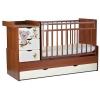 Детскую кроватку СКВ-Компани Кровать детская СКВ-5 Коала, белая / светло- коричневая, купить за 9170руб.