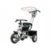 Трехколесный велосипед Liko Baby LB-772, серебро, купить за 5 900руб.