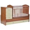 Детская кроватка СКВ-Компани СКВ-9 Жираф, орех + бежевый, купить за 13 170руб.