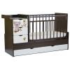Детскую кроватку СКВ-Компани СКВ-5 Коала 52103, белая+ венге, купить за 9170руб.