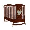 Детская кроватка Feretti Romance Dondolo ( качалка), темный орех, купить за 21 380руб.