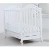 Детская кроватка Гандылян Джозеппе (колесо), белая, купить за 13 650руб.