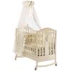 Детская кроватка Feretti Ricordo Dondolo (качалка), слоновая кость, купить за 16 550руб.