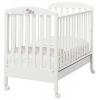 Детская кроватка Erbesi Dormiglione, белая, купить за 15 400руб.