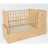 Детскую кроватку SKV company СКВ-5 54403 Бук, купить за 7390руб.