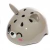 Шлем роликовый Rexco 3D Зайка Банни, серый, купить за 1 200руб.