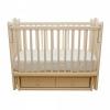 Детскую кроватку Счастливый малыш Дюймовочка (маятник и ящик) Слоновая кость, купить за 6760руб.