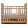 Детскую кроватку Счастливый малыш Дюймовочка (маятник) слоновая кость, купить за 7090руб.