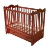 Детскую кроватку Счастливый малыш Дюймовочка (с маятником и ящиком) Тик, купить за 6130руб.