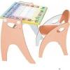 Товар для детей Парта Интехпроект Части Света (персиковая), купить за 2 940руб.