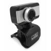 Web-камера CBR CW 832M, чёрная с серебристой вставкой, купить за 870руб.