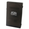 Корпус для внешнего жесткого диска AgeStar SUBCP1 для 2.5''HDD, USB2.0 - SATA, чёрный, купить за 335руб.