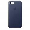 Чехол iphone Apple MMWK2ZM/A для Apple iPhone 7 силикон темно-синий, купить за 2495руб.