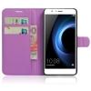 Чехол для смартфона Book Case New для Huawei Honor 8 (с визитницей), фиолетовый, купить за 260руб.