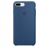 Чехол iphone Apple iPhone 7 Plus (MMQX2ZM/A), синий, купить за 3620руб.