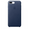Чехол iphone Apple iPhone 7 Plus (MMYF2ZM/A), темно-синий, купить за 3345руб.