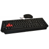Комплект A4-Tech Bloody Q1500 (клавиатура Q110 и мышь Q9) USB, чёрные, купить за 2 320руб.