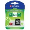 Verbatim Tablet microSDHC Class 10 UHS-1 32GB + SD adapter, купить за 1 235руб.