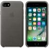 Чехол iphone Apple для iPhone 7 (MMY12ZM/A), тёмно-серый, купить за 3215руб.