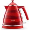 Электрочайник De Longhi KBA 2001.R, красный, купить за 7 945руб.