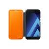 Чехол для смартфона Samsung для Samsung Galaxy A7 (2017) Neon Flip Cover, черный, купить за 1565руб.