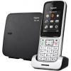 Радиотелефон Gigaset SL450, серебристый/черный, купить за 6 575руб.