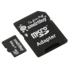 Карта памяти SmartBuy microSDXC Class 4 64GB (с адаптером SD), купить за 1 285руб.
