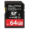 Карта памяти Qumo SDXC Memory Card 64Gb UHS-I U1, купить за 1 675руб.