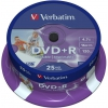 Оптический диск DVD-R Verbatim 4.7 Gb, 16x, Printable, Cake Box (25шт), купить за 920 руб.