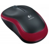 Мышка Logitech Wireless Mouse M185 Black-Red USB, купить за 1 100 руб.