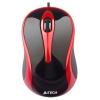 Мышку A4Tech N-350, черная / красная, купить за 675руб.
