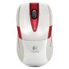 Мышка Logitech Wireless Mouse M525 White-Red USB, купить за 3 510 руб.