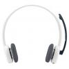 Logitech Stereo Headset H150, белая, купить за 1 400руб.